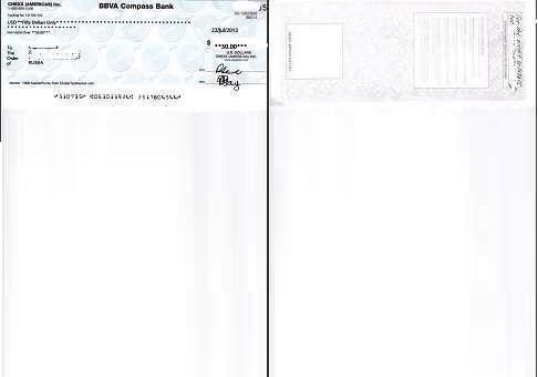Скопировать чек на лист A4