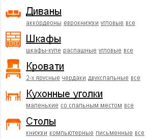 примеры перелинковки интернет магазина