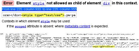 проверка валидности кода html