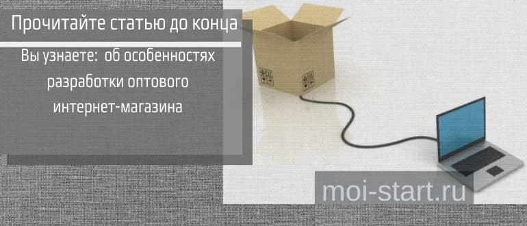 разработка оптового интернет магазина
